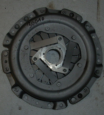 Pressure plate Fiat 500 F -used - in a good condition - original for Fiat 500 F / L / R / G