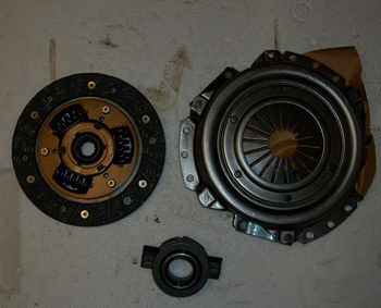 Clutch complete with clutch release bearing - R/126/126 BIS Tuning 500