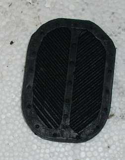 Pedal rubber Original for all Fiat 500 and Fiat 126 types (unit price)