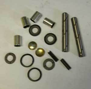 Steering knuckle overhaul set for all types for 2 steering knuckle