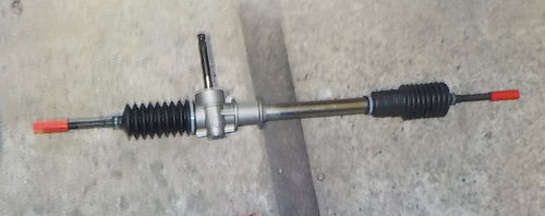 Rack - and - pinion steering  overhaul, complete  with sheet- USED -