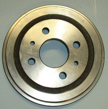 Brake drum Giardiniera 2. & 3. production run, like  Fiat 126