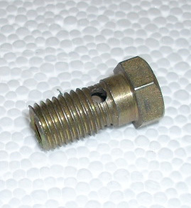 Hollow bolt for wheel cylinder front Fiat 500 F/L/R & 126
