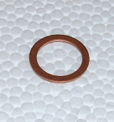 Copper Gasket for hollow bolt wheel cylinder
