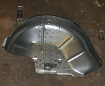 Inboard-Inside wheel house complete left side front Fiat 126