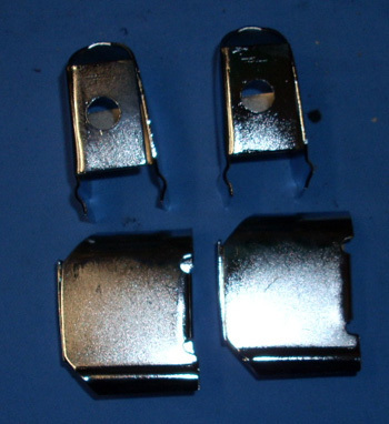 Holder for bumper, chrome -4 pieces