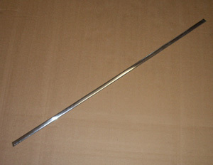 ! Decorative strip V2A-stainless steel - unit price (for door sill)