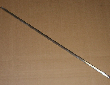 ! Dekorative strip ALUMINIUM - unit price - (for door sill)