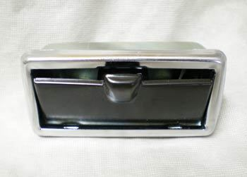 Ashtray with chrome rim for Fiat 50ß0 D/F/L/R/G