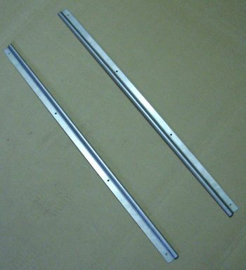 Door - border V2A - stainless steel F / L / R SET (2 pieces)