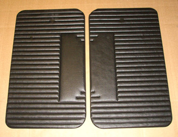 Door covering L - black, SET