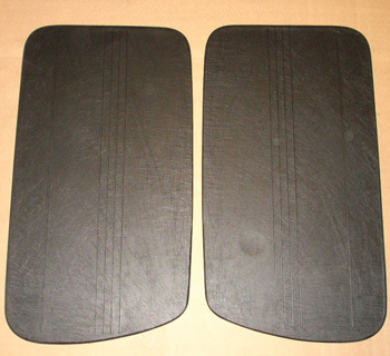 Door covering N/D/G - black, SET