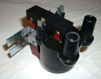 Ignition Coil - Dual Ignition with terminal 15 thus without series resistor