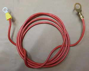 licence plate light / Supply cable