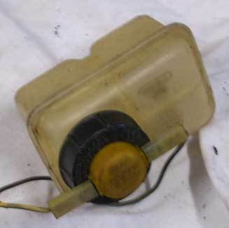 Brake fluid tank - USED - 2 circle construction - 126