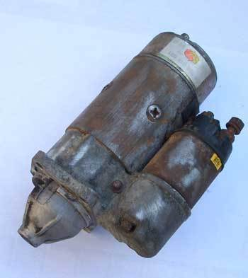 Starter on exchange - Fiat 126/ 126 BIS - USED - on exchange