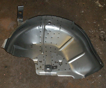 Inboard - inside wheel house Fiat 126/ 126 BIS complete front - left side