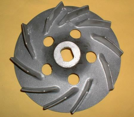 Fan wheel aluminium