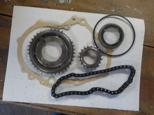 timing chain set - strengthened from Italy