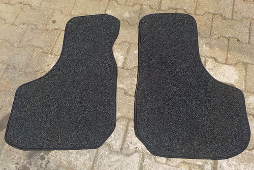 Car mat /fitted carpeting , SET 2-part (border chained)