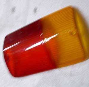 Taillight glass 126 BIS right side NEW
