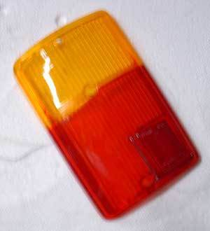 Taillight glass 126, left side NEW
