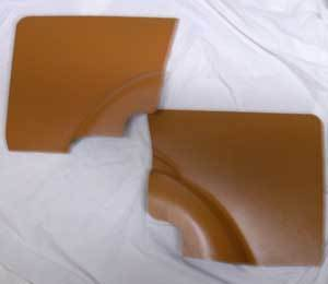 Side carpeting rear 500 F/R, Ocher SET