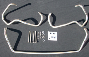 Stainless steel bow SET complete V2A - stainless steel incl. Equipment